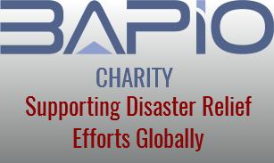 BAPIO Charity banner