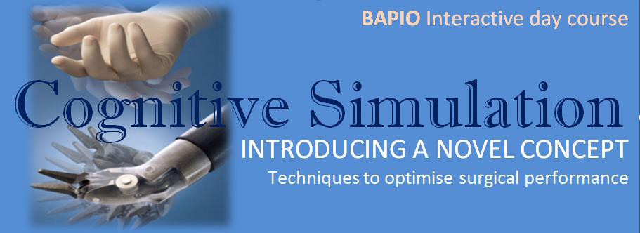 Cognitive Simulation - a day course - BAPIO | British Association of