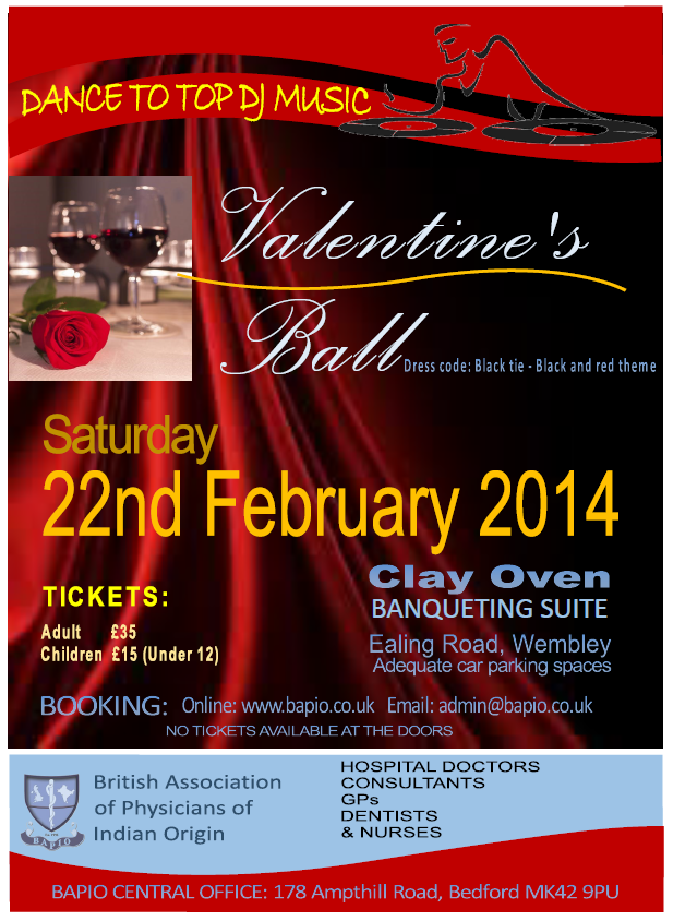 London and South East division Valentines Ball 2014
