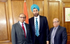BAPIO welcomes new Indian High Commissioner