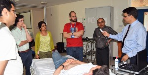 BTA AIIMS and ACEE train delegates in ultrasonography