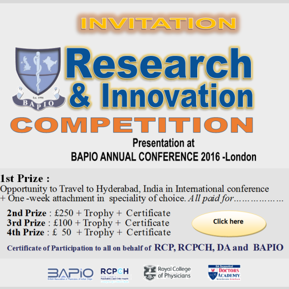 BAPIO Inovation Competition