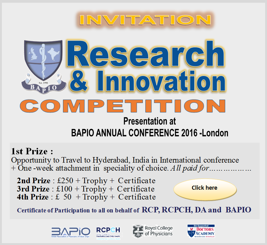 BAPIO Inovation Competition