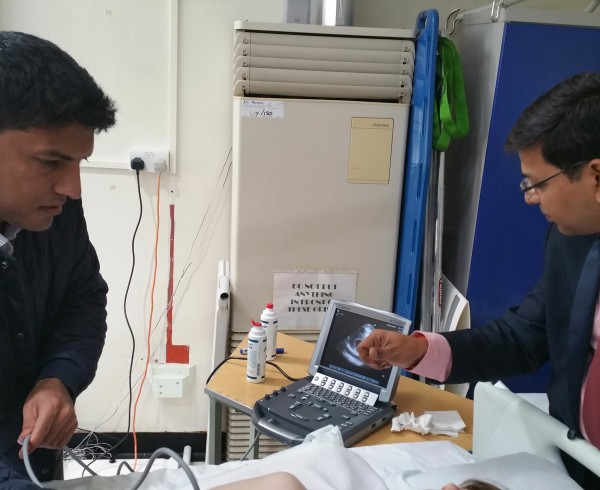 AIIMS ADVANCED ULTRASOUND IN TRAUMA AND LIFE SUPPORT COURSE at Weston general Hospital