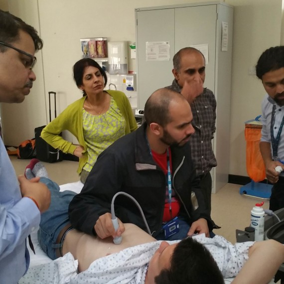 AIIMS ADVANCED ULTRASOUND IN TRAUMA AND LIFE SUPPORT COURSE returns to Basildon