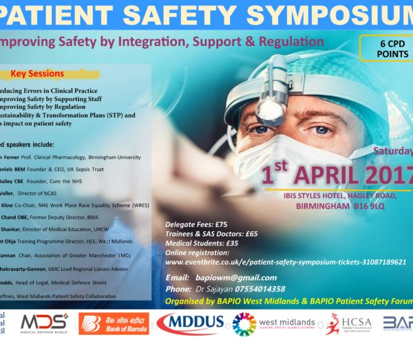 Patient Safety Symposium