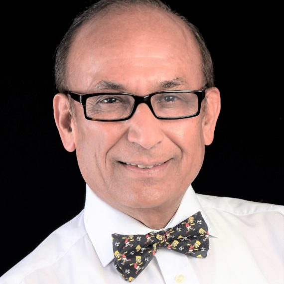 Dr Ramesh Mehta OBE