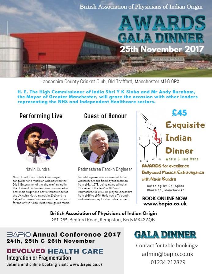 Gala dinner AC17