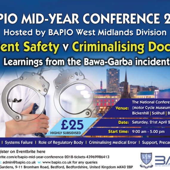 BAPIO Mid-Year Conference 2018