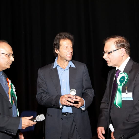 Imran Khan at BAPIO Conference