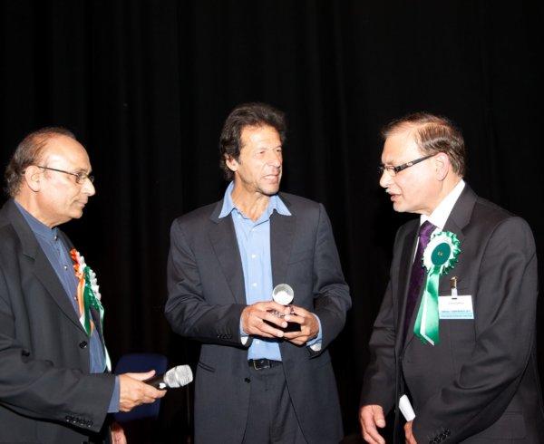 Imran Khan at BAPIO Conference