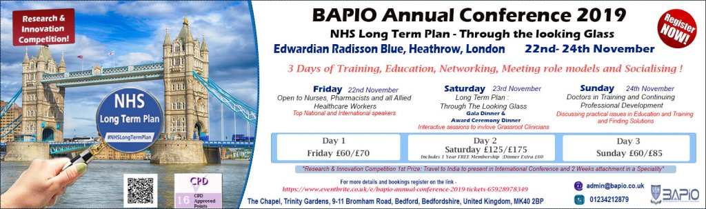BAPIO - Research and innovation competition